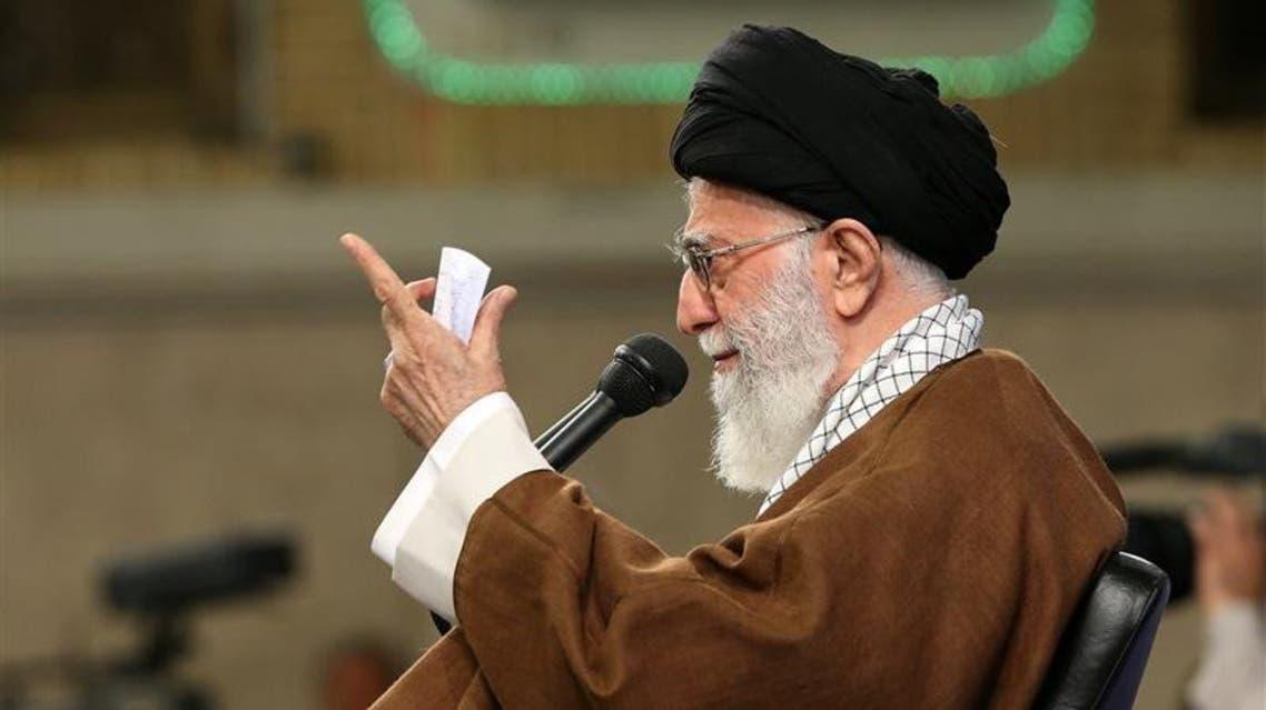 المرشد الأعلى الايراني علي خامنئي