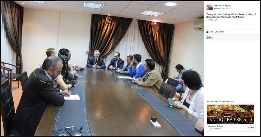 مع وزير المصالحة في حكومة النظام السوري