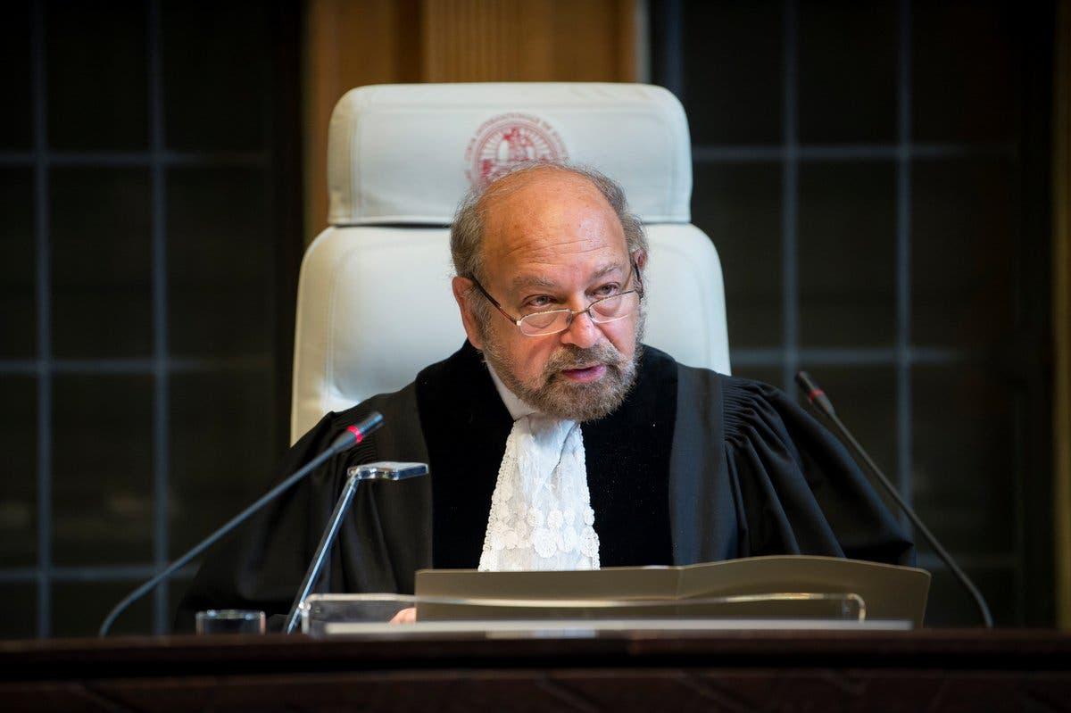 القاضي روني ابراهام رئيس المحكمة