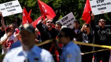 """US capital slams """"attack"""" as Erdogan guards clash with protest"""