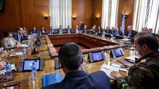 بعد تأخر 5 أيام وفد النظام يعود للمشاركة بمحادثات جنيف
