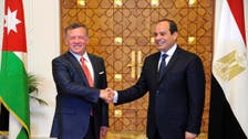 Jordan's king in Egypt visit discusses Mideast issues