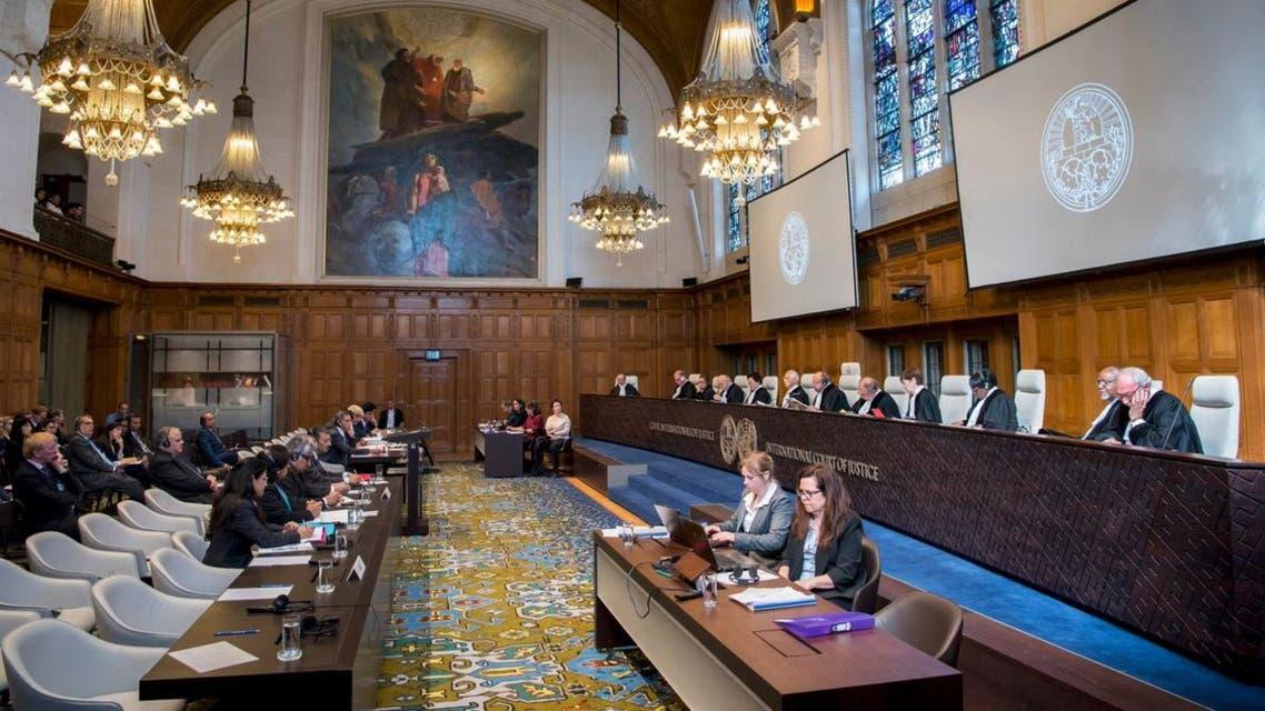 مداولات محكمة العدل الدولية في القضية المنظورة