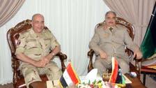 تفاصيل لقاء رئيس أركان جيش مصر بحفتر في ليبيا
