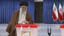 ایران میں انتخابات کے لئے ووٹنگ، خامنہ ای نے گھر سے ووٹ ڈالا