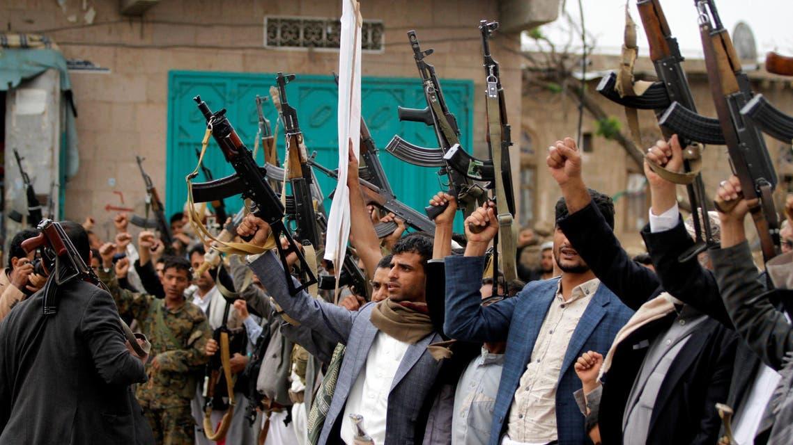 مقاتلون موالون لميليشيا الحوثي