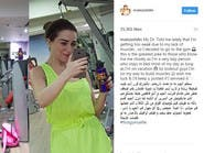 مي عز الدين تكشف تفاصيل مرضها ونصيحة الطبيب لها