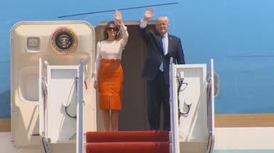 ترمب يغادر أميركا متوجهاً إلى السعودية
