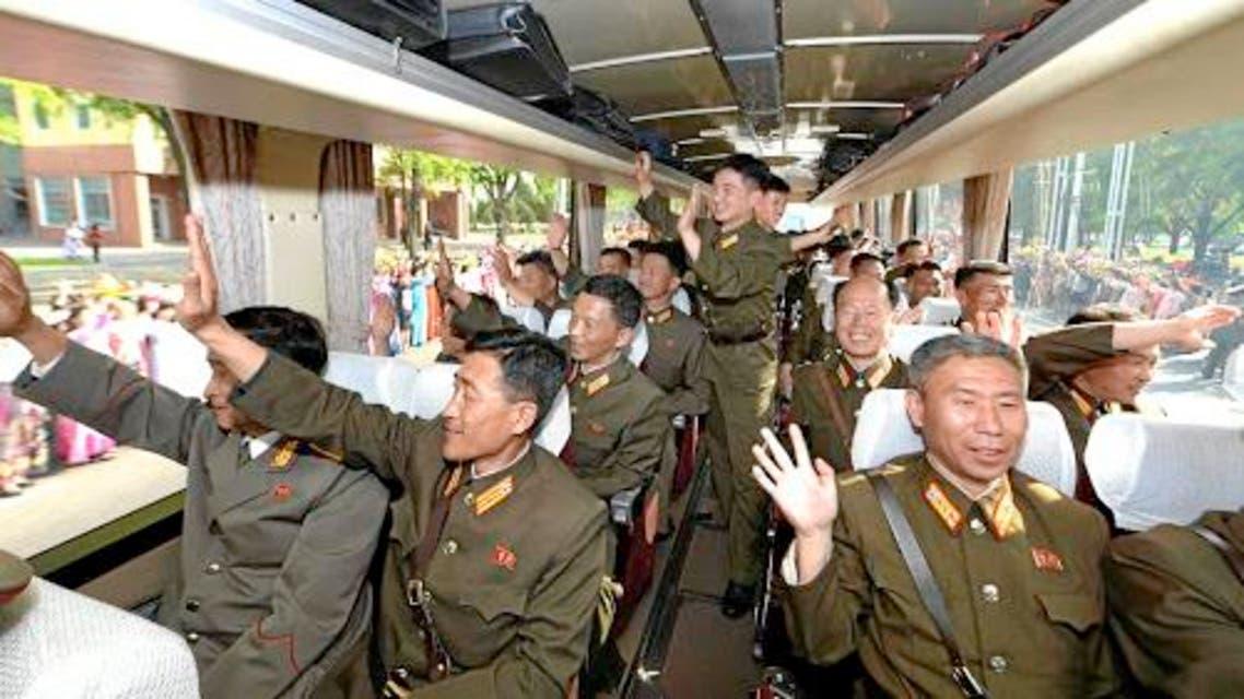 علماء البرنامج الصاروخي كوريا الشمالية