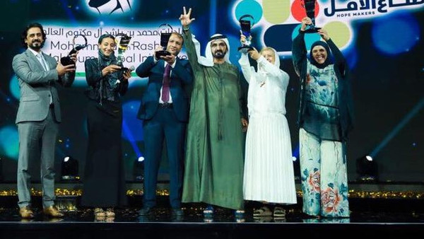 5 Arab hope makers win Million dirham job each