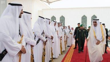خادم الحرمين يصل الرياض تمهيداً لحضور أعمال القمة