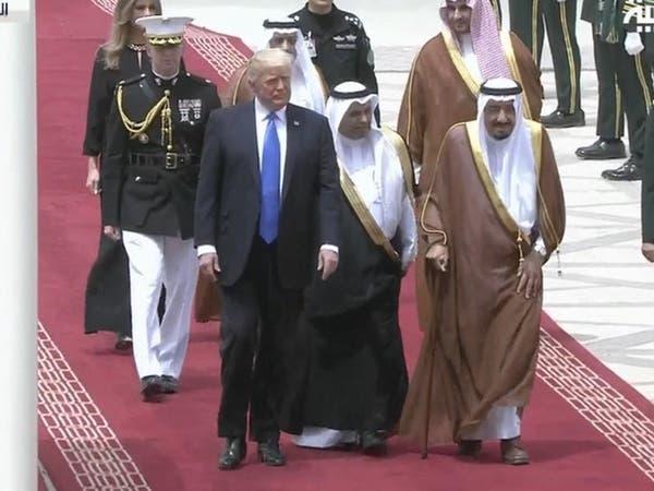 الملك سلمان لترمب: زيارتكم تعزز تعاوننا