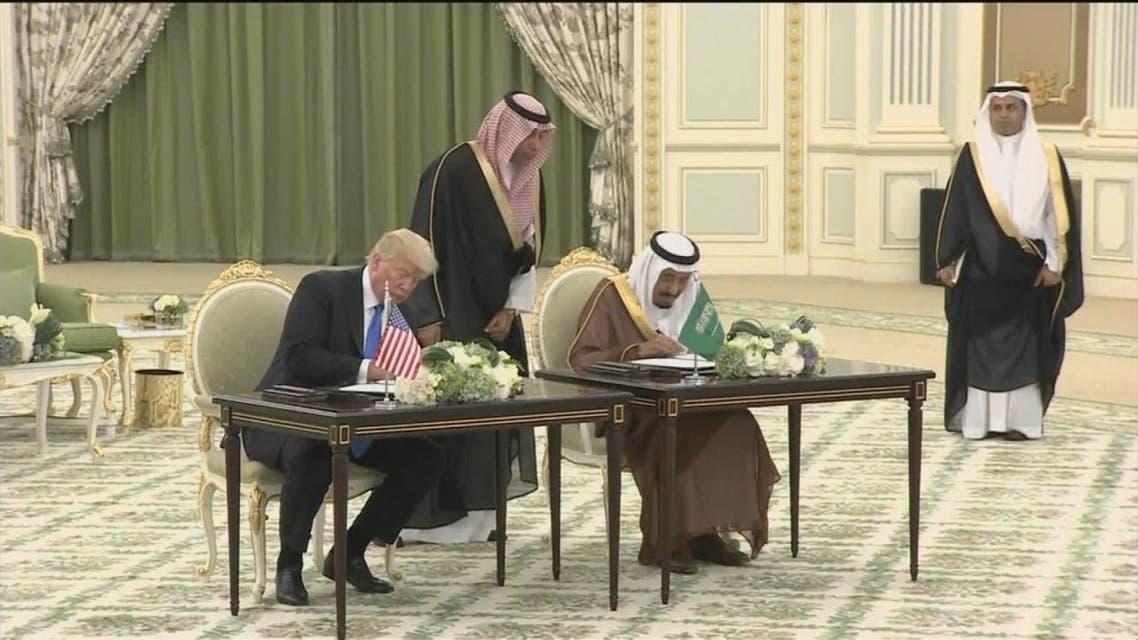 THUMBNAIL_ توقيع مجموعة اتفاقيات بين الرياض ووانطن بقيمة 280مليار دولار