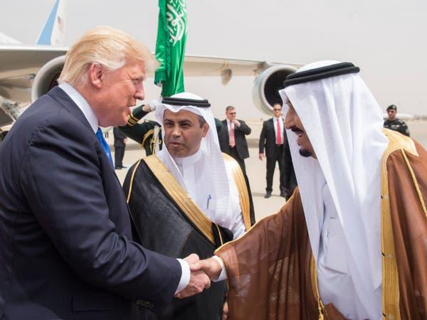 ترمب: أشكر الملك سلمان لمكافحته الإرهاب ومحاربة تمويله