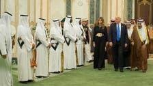 Saudi Royal Guards' uniform grabs Donald Trump's attention