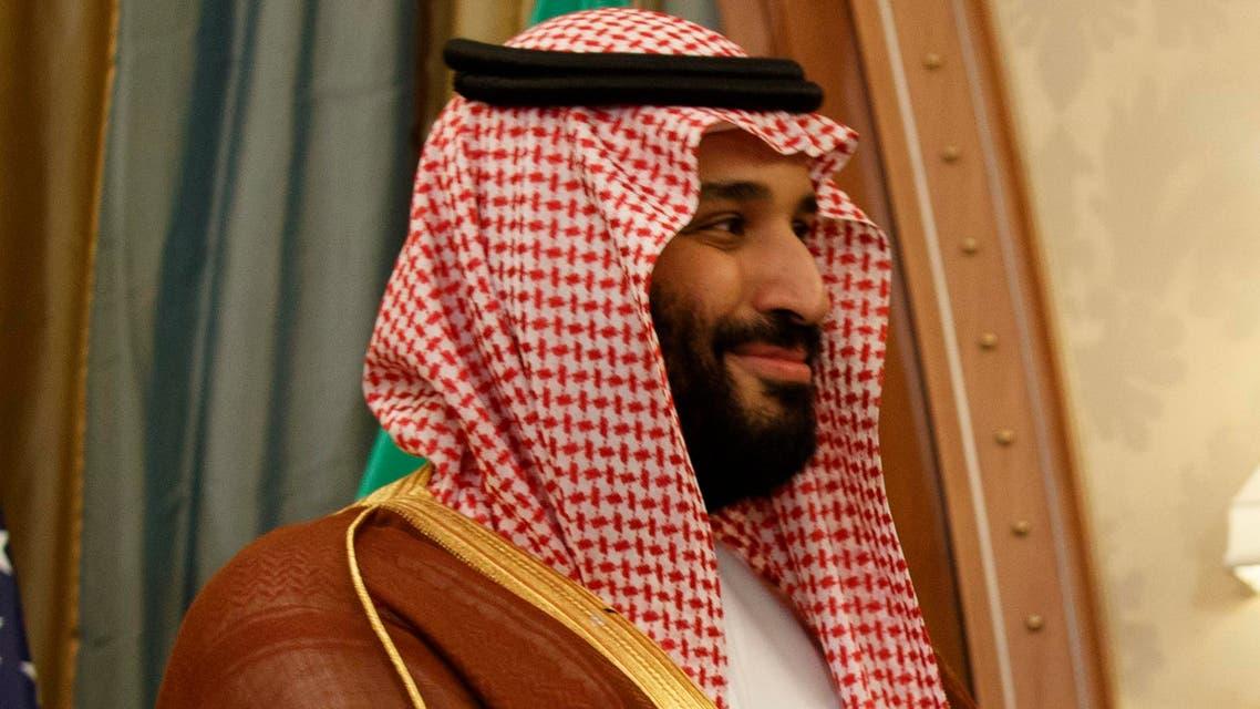Deputy Crown Prince meets with heads of major American and Saudi companies (AP)