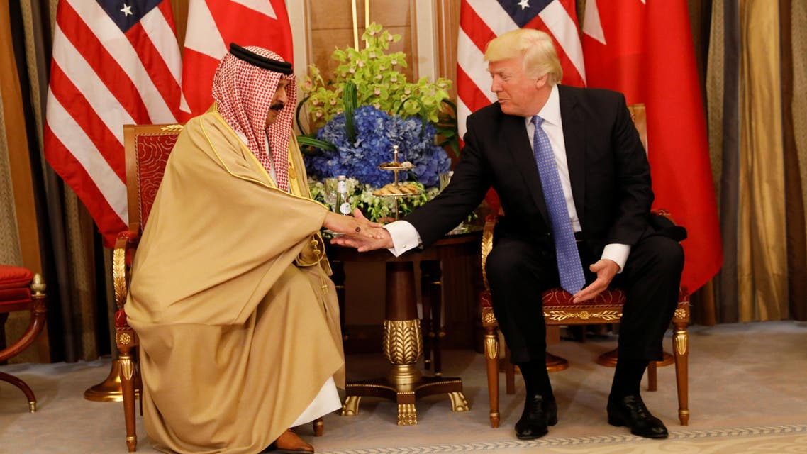 ترمب - ملك البحرين 3