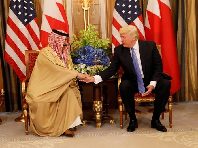 ترمب يشكر ملك البحرين على جهوده من أجل السلام