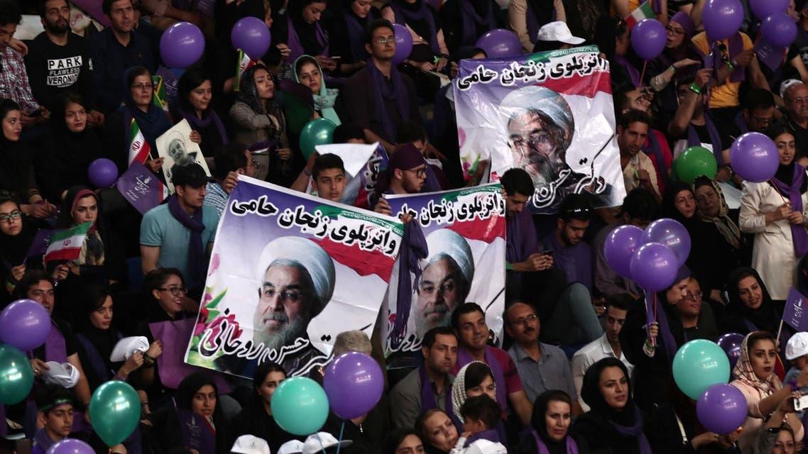 iranian reformists celebrate, AFP