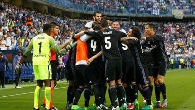 ريال مدريد ينهي الصيام الطويل ويحقق لقب الدوري الإسباني
