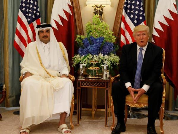 الرياض.. الرئيس الأميركي يجري مباحثات مع أمير قطر