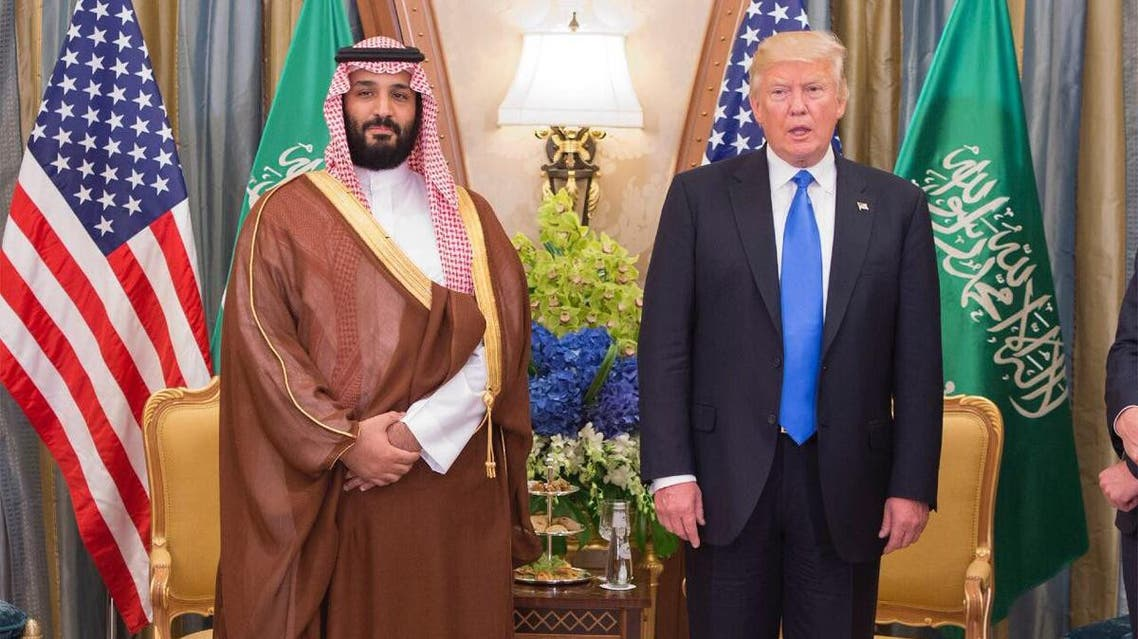 Saudi Deputy Crown Prince, US President Trump discuss enhancing ties