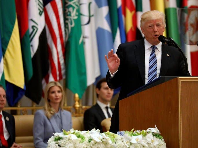 ترمب عن السعودية: السلام يبدأ هنا من هذه الأرض المقدسة