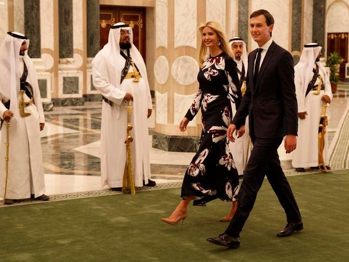 إيفانكا تغرد من الرياض: تشرفت باستقبال الملك وعائلته