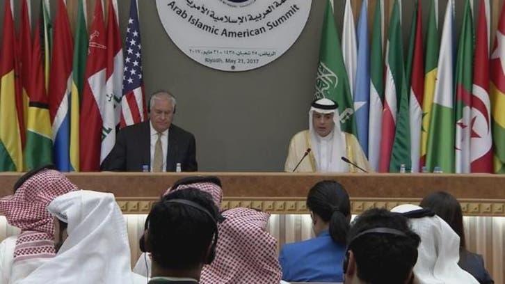الجبير وتيلرسون: معاً ضد الإرهاب وتدخلات إيران