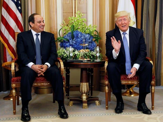 ترمب بعد لقاء السيسي: سأزور مصر قريباً