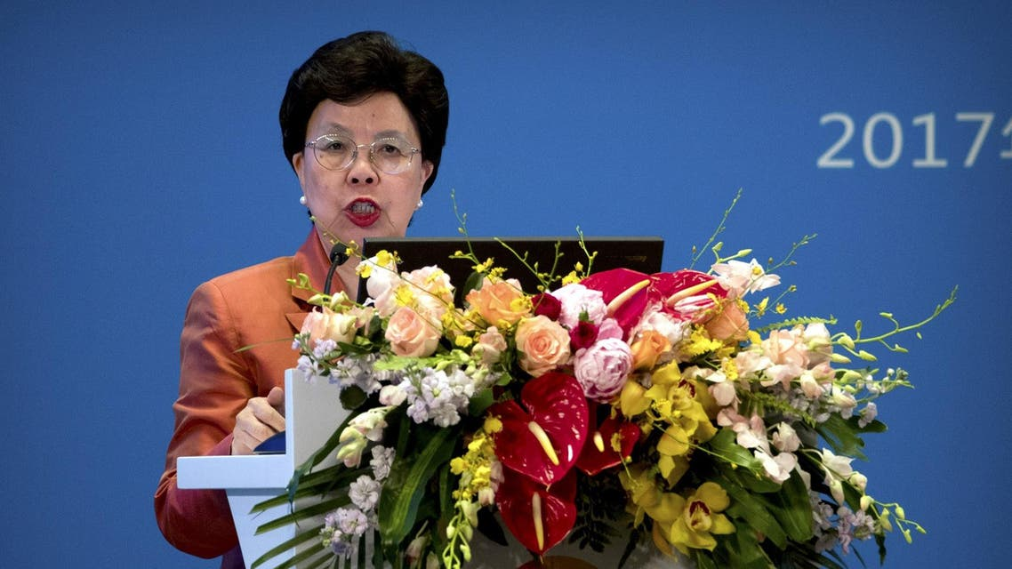 Margaret Chan, general director of WHO. Reuters file photo