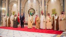 Donald Trump meets with Gulf leaders in landmark Riyadh summit