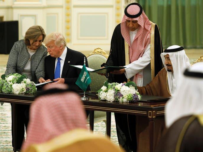 توقيع اتفاقيات بقيمة 280 مليار دولار بين الرياض وواشنطن