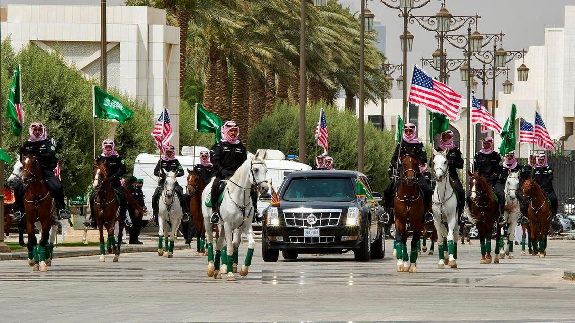 سيارة ترمب - السعودية 3