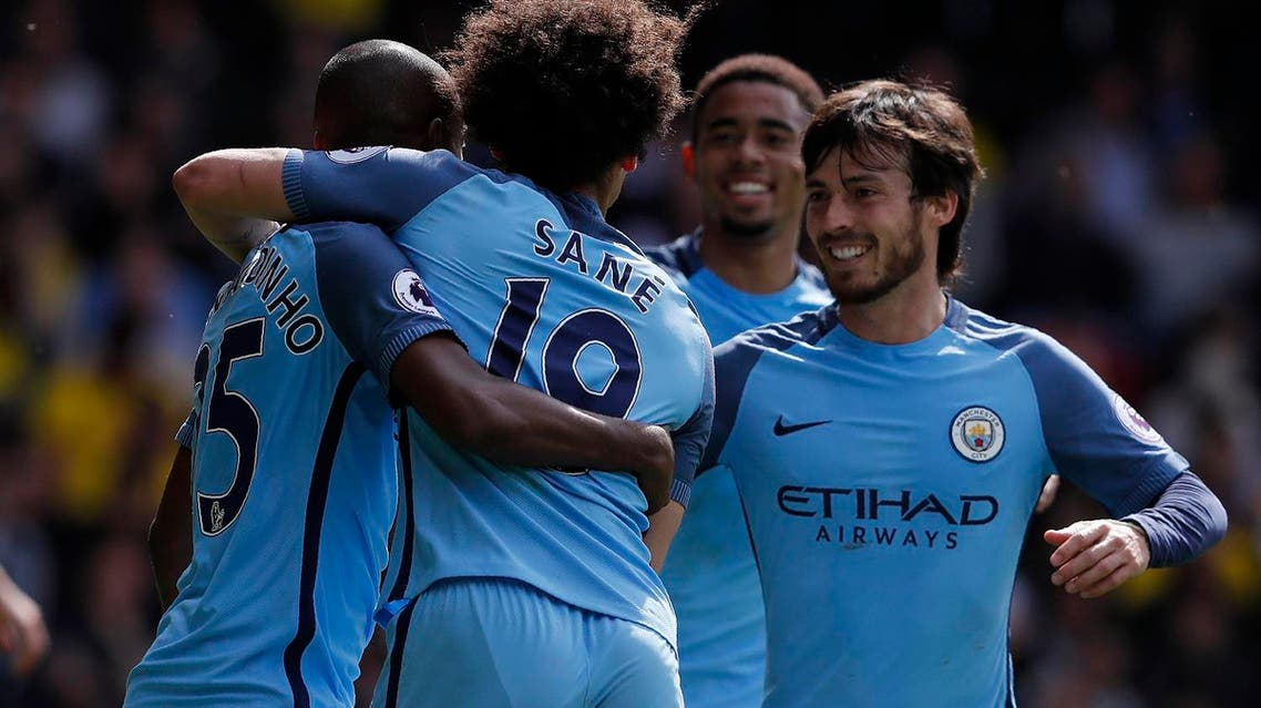 Manchester City are already working on how they can improve next season after sealing a spot in the Champions League. (AFP)