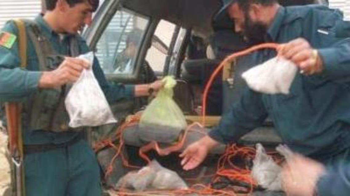 کشف مواد انفجاری در افغانستان