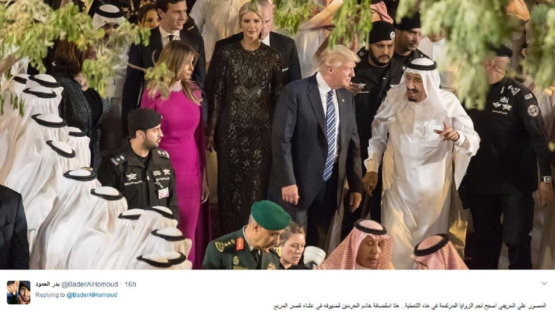 Saudi director Badr al-Homoud tweeted a string of photographs taken by Saudi photographers on his Twitter account. (Screengrab: Al-Homoud twitter account)