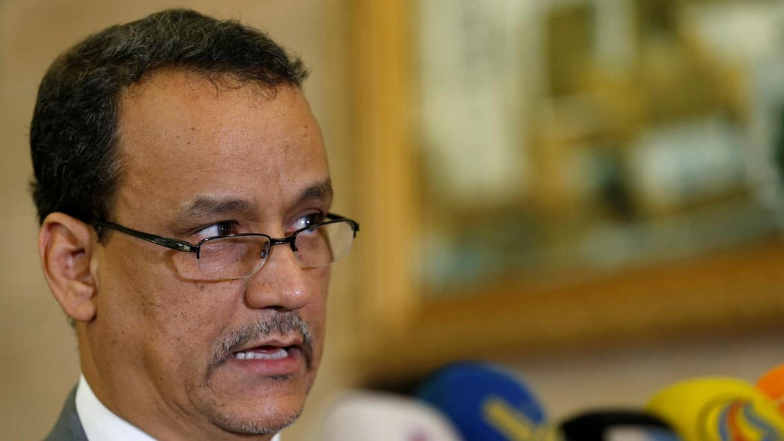 UN envoy for Yemen Ismail Ould Cheikh Ahmed photo from reuters