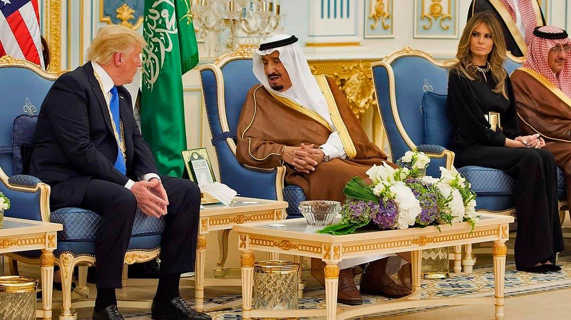 saudi king salman trump AFP
