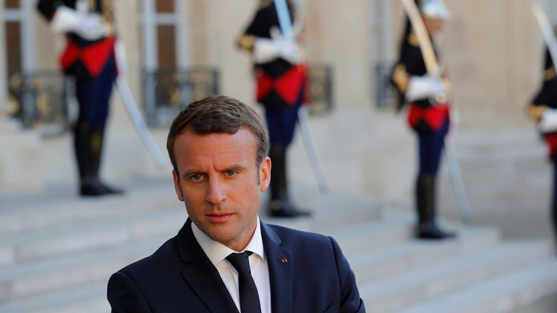 Emmanuel Macron photo from Reuters