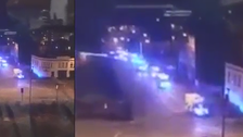 WATCH: How the police swiftly headed to Manchester Arena attack area