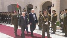 ترمب يجري محادثات مع الرئيس الفلسطيني في بيت لحم