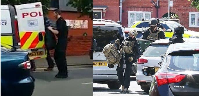 كانوا ملثمين حين اعتقلوه، ثم وضعوه في سيارة فان تابعة للشرطة ونقلوه إلى مركز للتحقيق