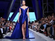 أناقة احتفالية من مايكل سينكو في أسبوع الموضة العربي