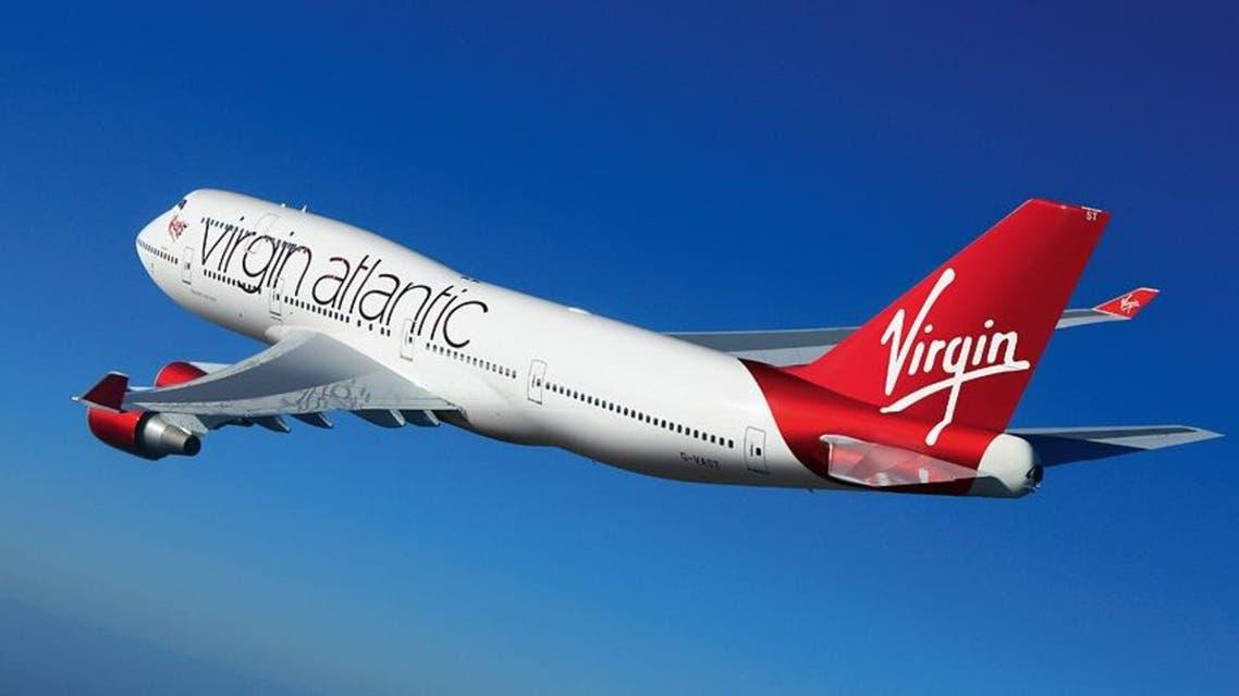 طائرة تابعة لشركة فيرجن أتلانتيك