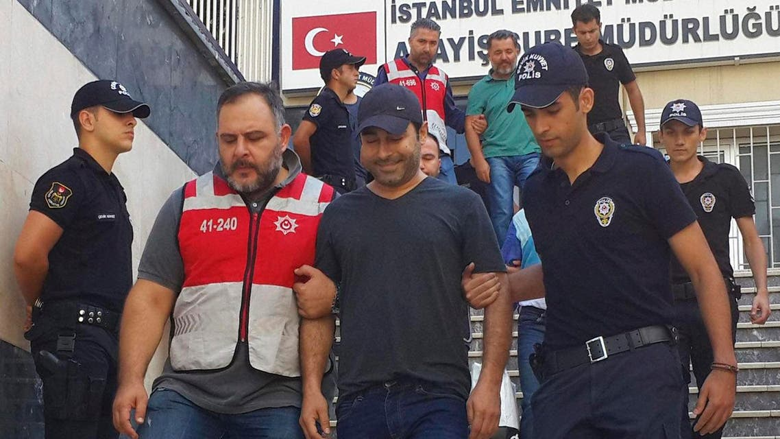 Singer Atilla Tas and 28 other people, mostly journalists, went on trial Monday, March 27, 2017, on terrorism charges for alleged links to a failed coup attempt. (File photo:AP)
