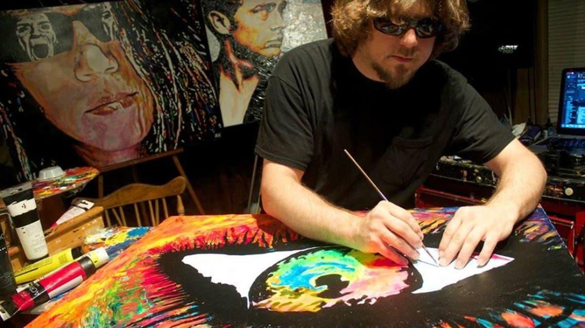 رسام أعمى