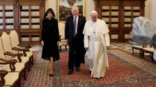 Trump meets Pope Francis at Vatican in third leg of foreign trip