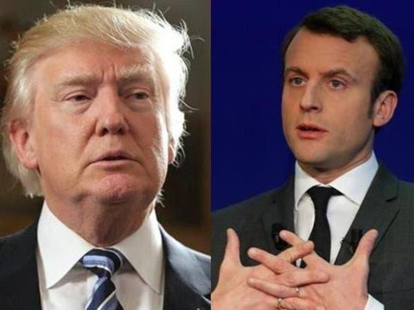 """حرب """"تويترية"""" بين ترمب وماكرون.. وفرنسا ترد بالفيديو!"""