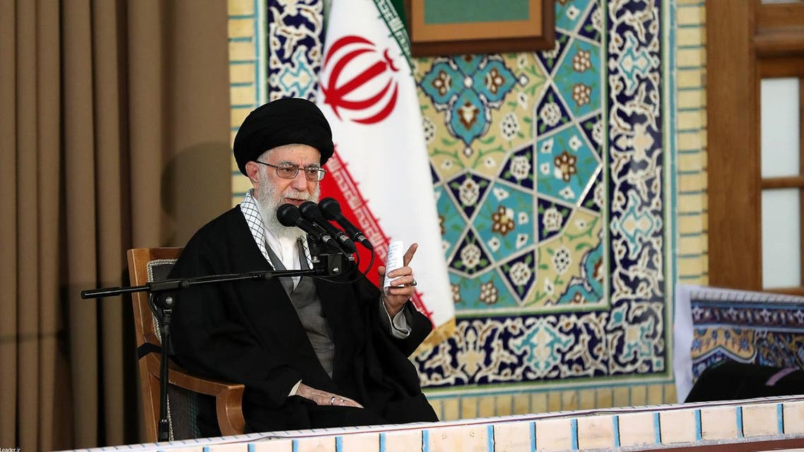 Did Khamenei fail to manipulate this election by selecting Ebrahim Reisi as his favorite president? (AFP)